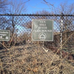 Photo taken at Ten Mile River Playground by Andy S. on 2/9/2012
