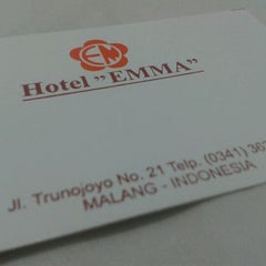 Photo taken at Hotel Emma by George H. on 1/25/2012