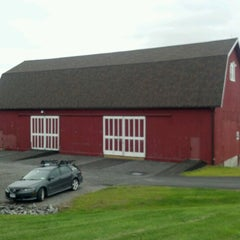 Photo taken at Red Barn Climbing Gym by Seann M. on 10/13/2011