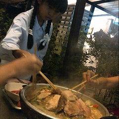 Photo taken at ร้านปิ้งแซบ by Bier b. on 9/6/2012