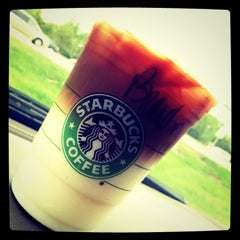 Photo taken at Starbucks by Brandon E. on 12/10/2011