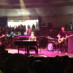 Photo taken at Cape Cod Melody Tent by Timm M. on 7/26/2012