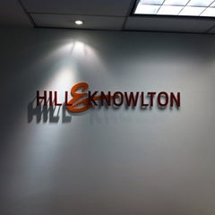 Photo taken at Hill & Knowlton by Gonzalo O. on 7/22/2011