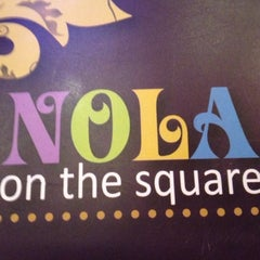Photo taken at NOLA on the Square by Mayuri on 8/7/2012