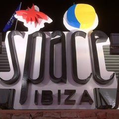 Photo taken at Space Bar ibiza by Alex M. on 5/28/2012