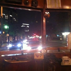 Photo taken at M-Line Trolley by Leslie L. on 5/11/2012