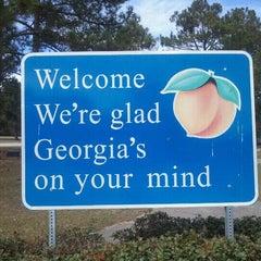 Photo taken at Georgia / South Carolina State Line by John on 2/18/2012