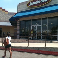Photo taken at Jason's Deli by Venus J. on 6/5/2012