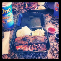 Photo taken at Ono Hawaiian BBQ by Cristopher on 6/27/2012