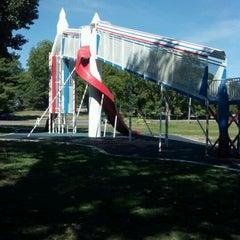 Photo taken at Union Park by Joy C. on 9/10/2012