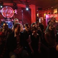 Photo taken at Hard Rock Cafe Atlanta by Amy W. on 3/15/2012