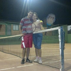 Photo taken at Academia de tenis Tenisport by Gustavo Luiz T. on 3/20/2012