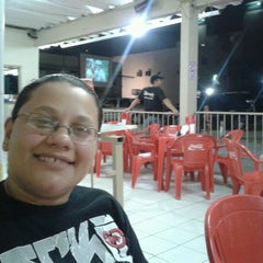 Photo taken at X-Mania Burgers by Katherine A. on 2/20/2012