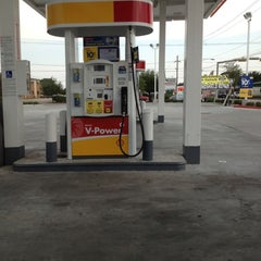 Photo taken at Shell by Lance H. on 8/6/2012