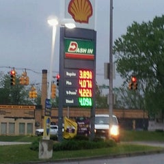 Photo taken at Shell by Leo D. on 4/18/2012