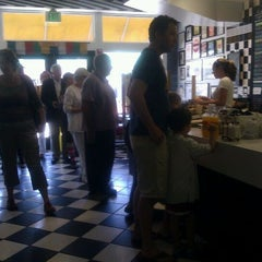 Photo taken at Greg's Bagels by Jo Y. on 5/20/2012