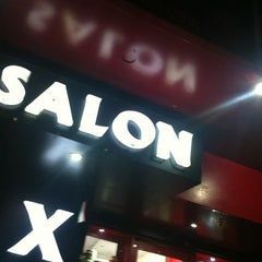 Photo taken at Salon X by Dharm V. on 2/20/2012