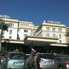Photo taken at Hotel O'Higgins by Vladimir B. on 3/19/2012
