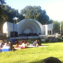 Photo taken at Levitt Shell by Robby G. on 9/9/2012