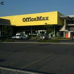 Photo taken at OfficeMax by JORGE N. on 4/11/2012