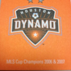 Photo taken at Houston Dynamo Offices by Brian K. on 2/2/2012