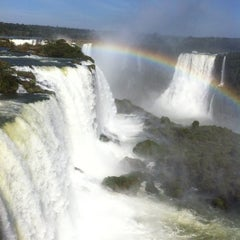 Photo taken at Parque Nacional de Iguazú by Marcia C. on 7/14/2012
