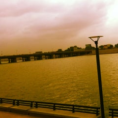 Photo taken at Sabarmati River Front by Dhaval P. on 8/22/2012