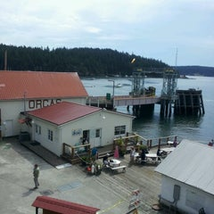 Photo taken at Orcas Island Ferry Terminal by Monique' E. on 8/6/2012