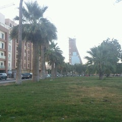 Photo taken at Al Corniche Walk | ممشى الكورنيش by Basma A. on 5/10/2012