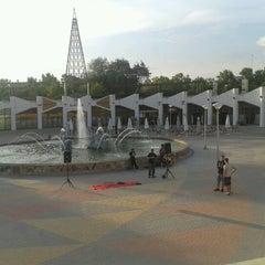 """Photo taken at Parque de """"La Ribota"""" by Genial_es on 9/7/2012"""