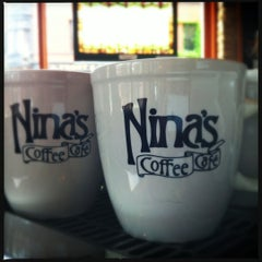 Photo taken at Nina's Coffee Cafe by Leigh L. on 6/24/2012