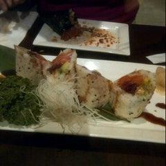 Photo taken at KUMA Sushi by Joelle E. on 4/19/2012
