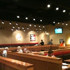 Photo taken at Genghis Grill by Bren M. on 1/16/2012