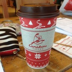 Photo taken at Caribou Coffee by Kimberly A. on 12/31/2011