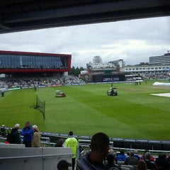 Photo taken at Emirates Old Trafford by Stephen C. on 7/10/2012