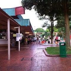 Photo taken at Changi Village by Jac on 9/3/2011