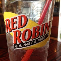 Photo taken at Red Robin Gourmet Burgers by John S. on 7/18/2012