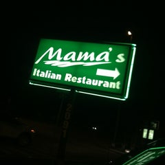 Photo taken at Mama's Italian Restaurant by Sam R. on 5/20/2012