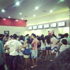Photo taken at Cinemark by Daniela Reis da S. on 5/1/2012