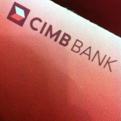 Photo taken at CIMB Bank by Kunaalan U. on 4/4/2012