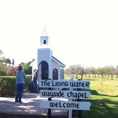 Photo taken at The Living Water Wayside Chapel by Farrah O. on 10/9/2011