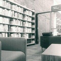 Photo taken at Kilmer Library by Jen H. on 12/22/2011