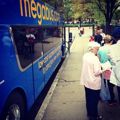 Photo taken at Megabus Stop Providence by Chia-Ling L. on 9/4/2012