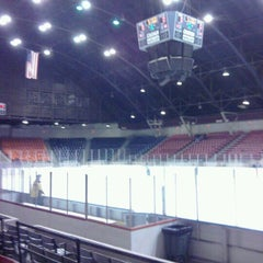 Photo taken at Taft Coliseum by Ryan S. on 12/17/2011