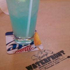 Photo taken at Curly's Waterfront Pub & Grill by Lindsay D. on 3/13/2012