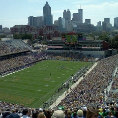 Photo taken at Bobby Dodd Stadium by Stephen R. on 9/17/2011