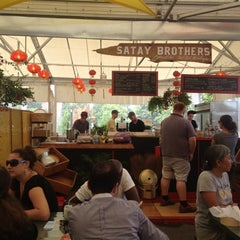 Photo taken at Satay Brothers by Marian K. on 8/2/2012
