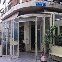 Photo taken at Cafe Michal (קפה מיכל) by Jordi on 12/29/2010