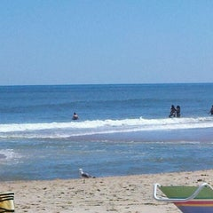 Photo taken at 145th St Beach by K.C. on 9/1/2011