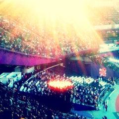 Photo taken at Olympic Stadium by Matt B. on 9/5/2012